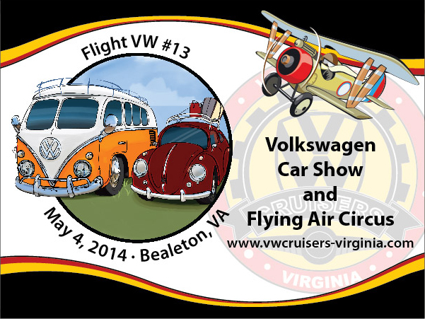 VWCruisers Show Dash Plaque