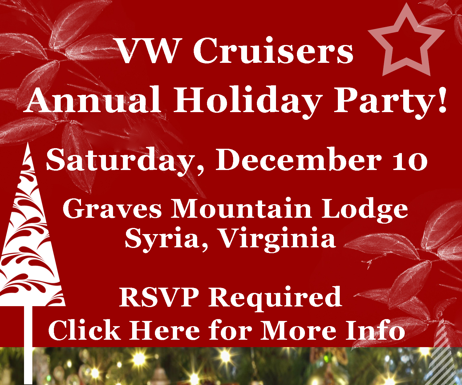 2016 VW Cruisers Annual Holiday Christmas Party!